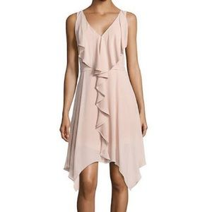 🆕 BCBG Maxazria Jessica Ruffled Cocktail Dress
